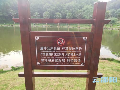 市区西苑公园不文明捕鱼影响环境