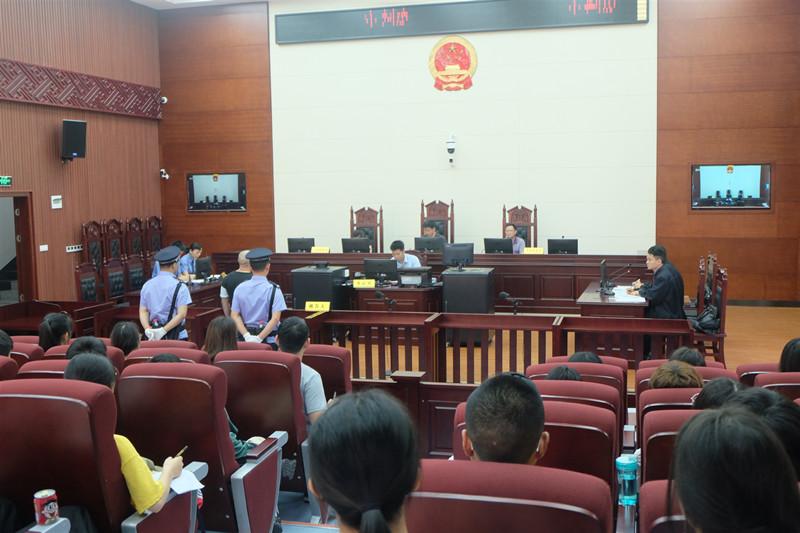 大祥区检察院举行观摩评议庭活动