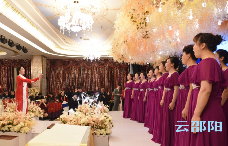 邵阳拍客丨旗袍协会优雅女神精彩表演