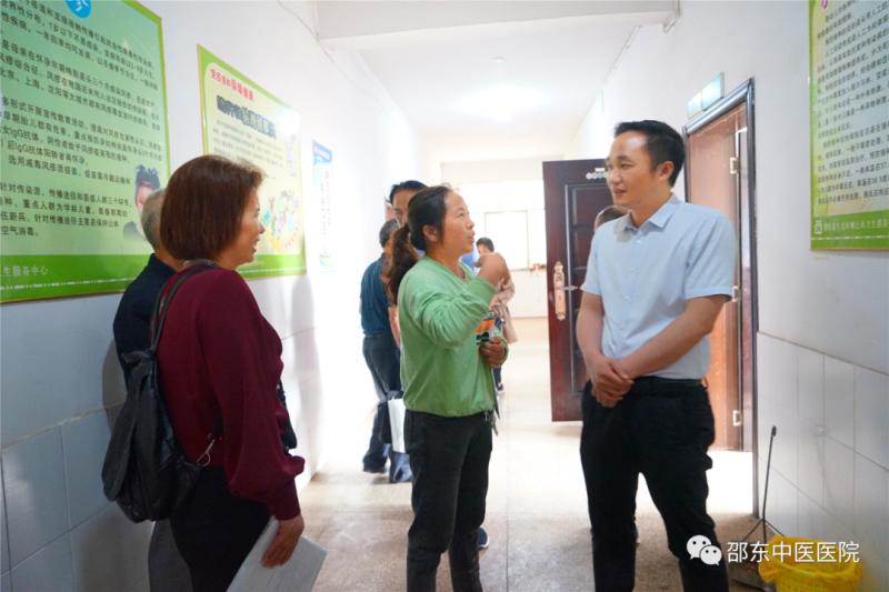 深入基层 邵东市中医医院免费培训乡村医生