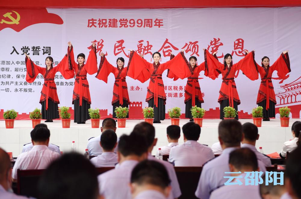 邵阳拍客丨税民融合颂党恩