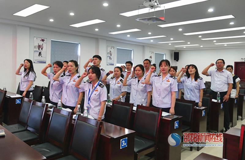 绥宁税务:青春心向党  建功新时代