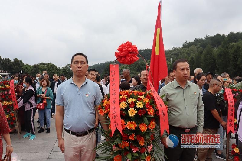 新邵县退役军人事务局党支部到韶山开展主题党日活动