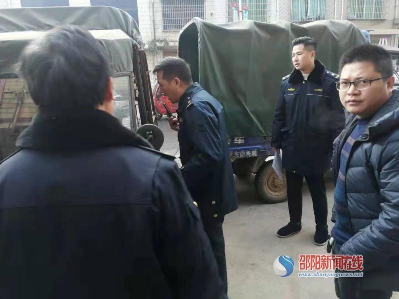 邵东市九龙岭镇:打击车辆非法营运 确保群众生命财产安全