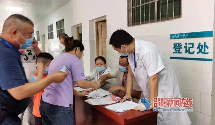 """邵阳县第二轮""""国家人体生物监测项目""""完美收官"""