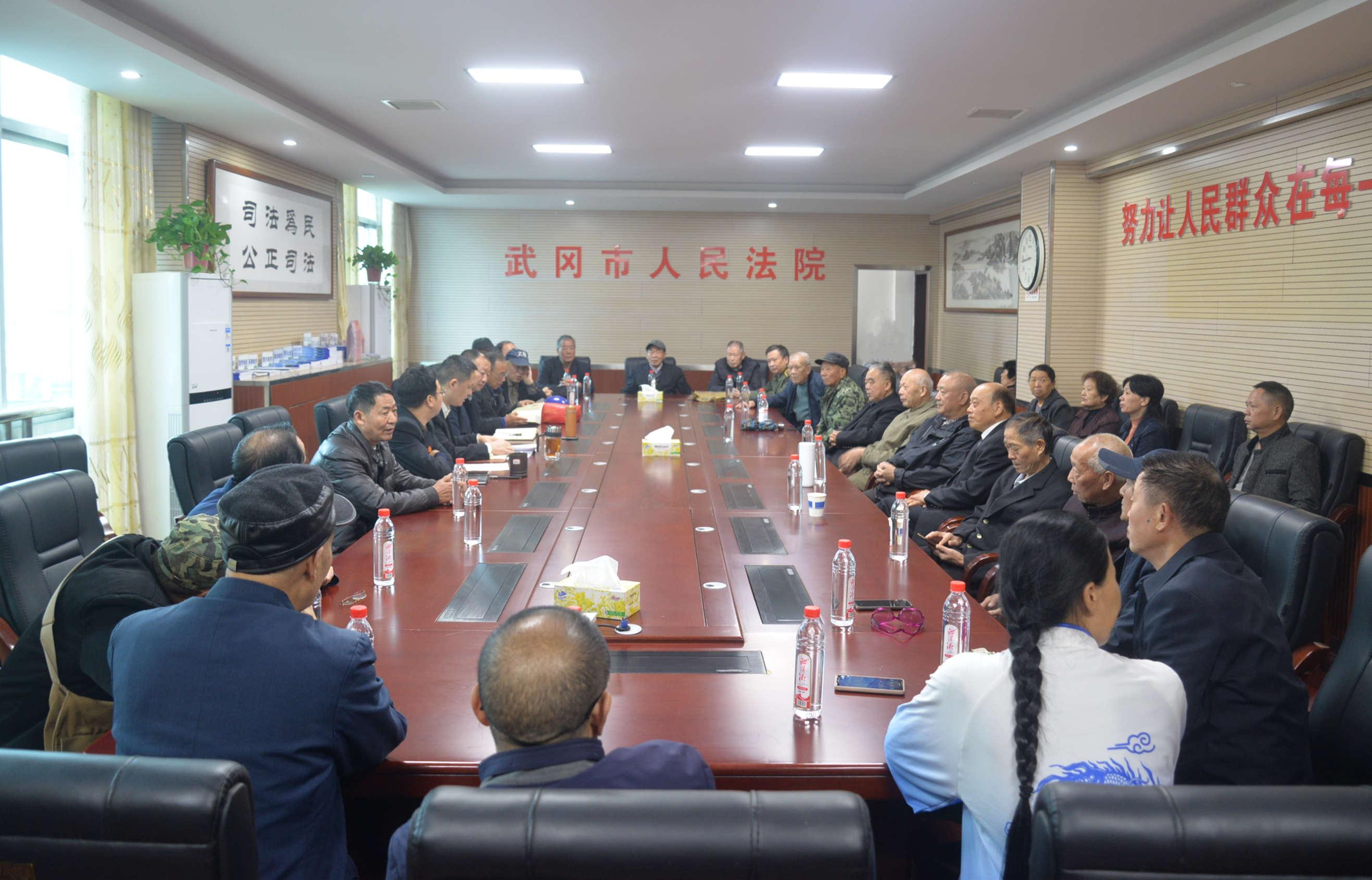 岁岁重阳 年年安康--武冈法院召开2021年重阳节老干部座谈会