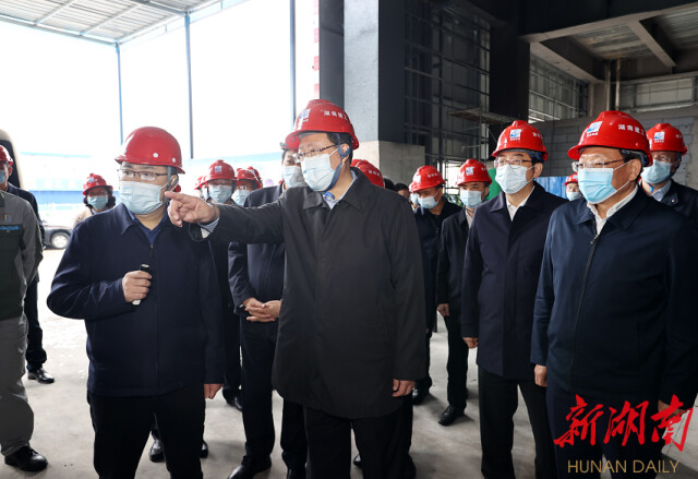 毛伟明在邵阳调研:凝心聚力 精准发力 全力以赴完成全年目标任务