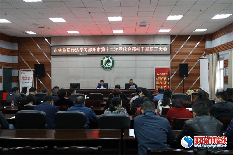 邵阳市林业局对市第十二次党代会精神进行再学习再贯彻
